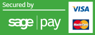 Shadecentre site secured by Sage Pay